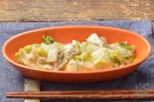 白菜の中華風ごまあえ