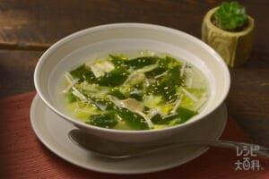 ナイスリメイク!レンチン白菜スープ