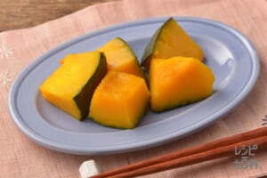 時短!かぼちゃのレンジ煮