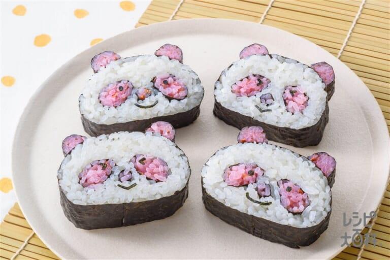 「アジパンダ」Cooking☆のり巻き