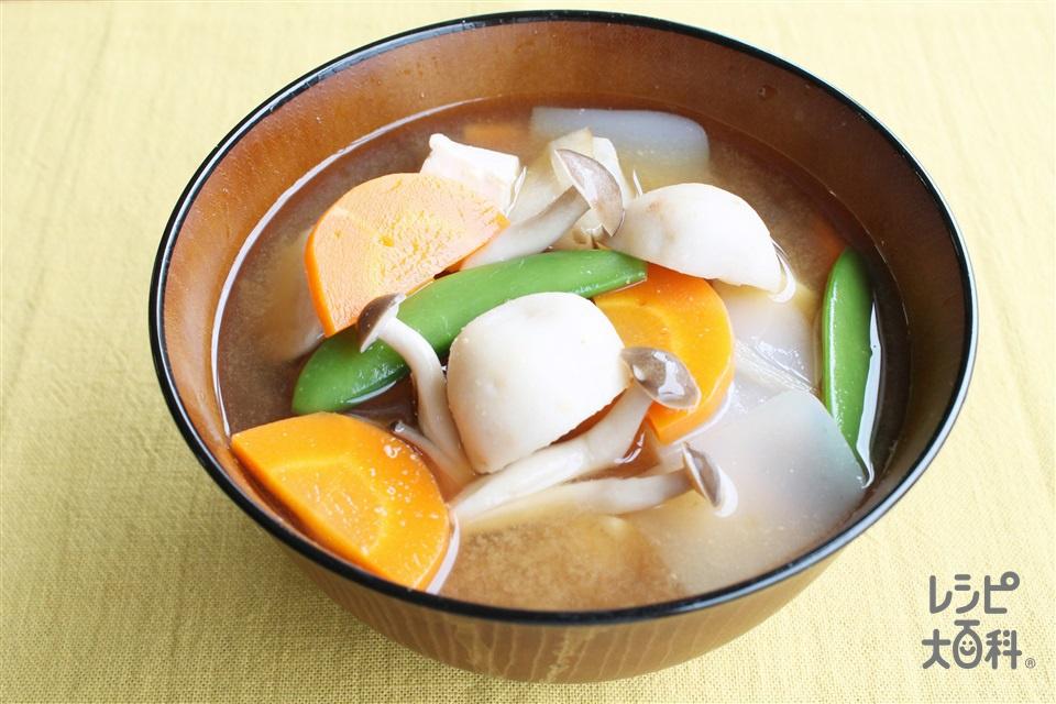 芋の子汁(里いも+豚薄切り肉を使ったレシピ)