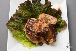 フライパンで簡単!お好み焼き風メンチカツ(合いびき肉+キャベツを使ったレシピ)