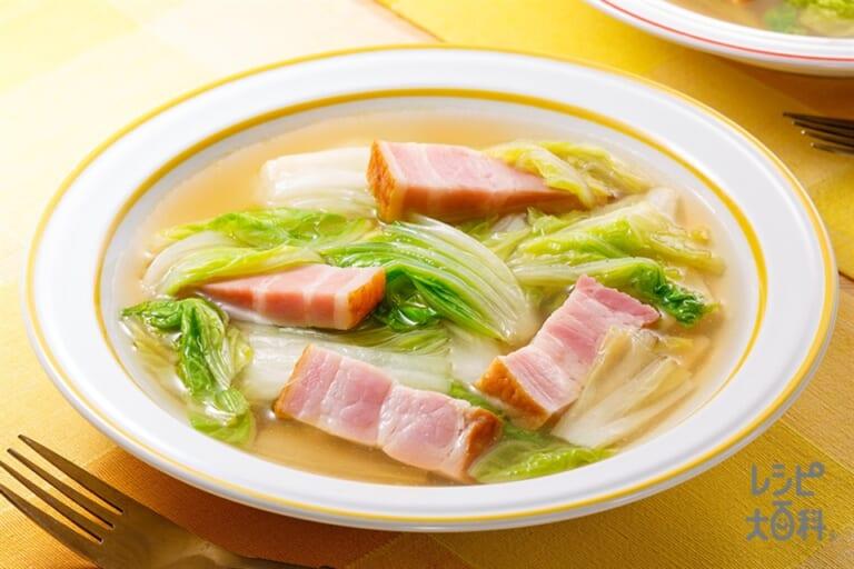 白菜のスープ野菜