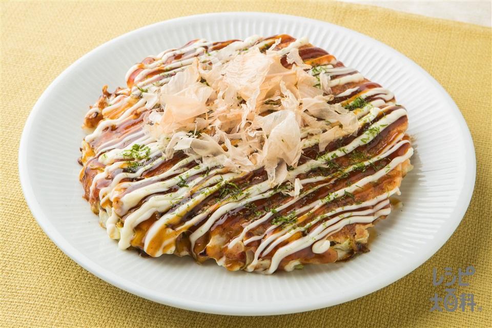 ふんわりお好み焼き(キャベツ+青ねぎを使ったレシピ)