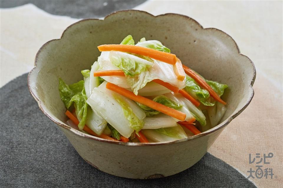 白菜と人参の丸鶏ナムル