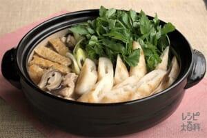 「鍋キューブ」できりたんぽ鍋
