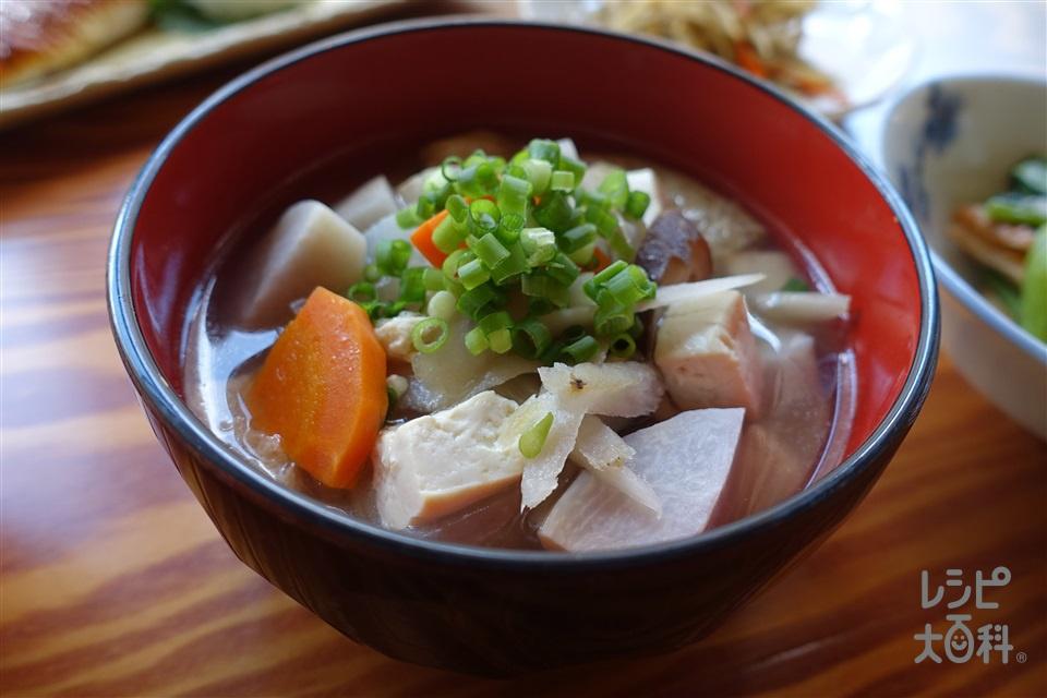 しまねのごっつぉけんちん汁(大根+にんじんを使ったレシピ)