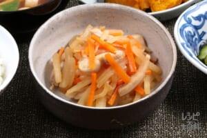 会津野菜のひき菜炒り