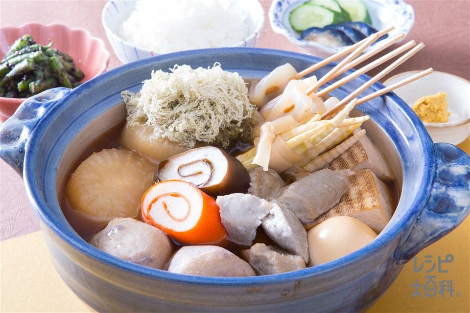 だしのうま味たっぷり 富山おでん(大根+焼き豆腐を使ったレシピ)