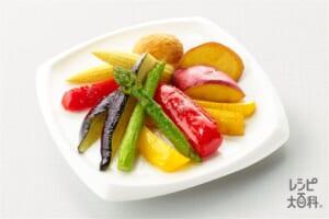 いろいろ野菜の素揚げ