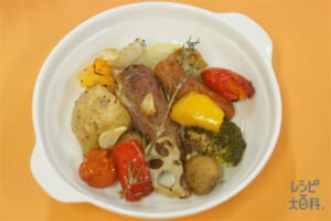 豚肉と野菜のぎゅうぎゅう焼き