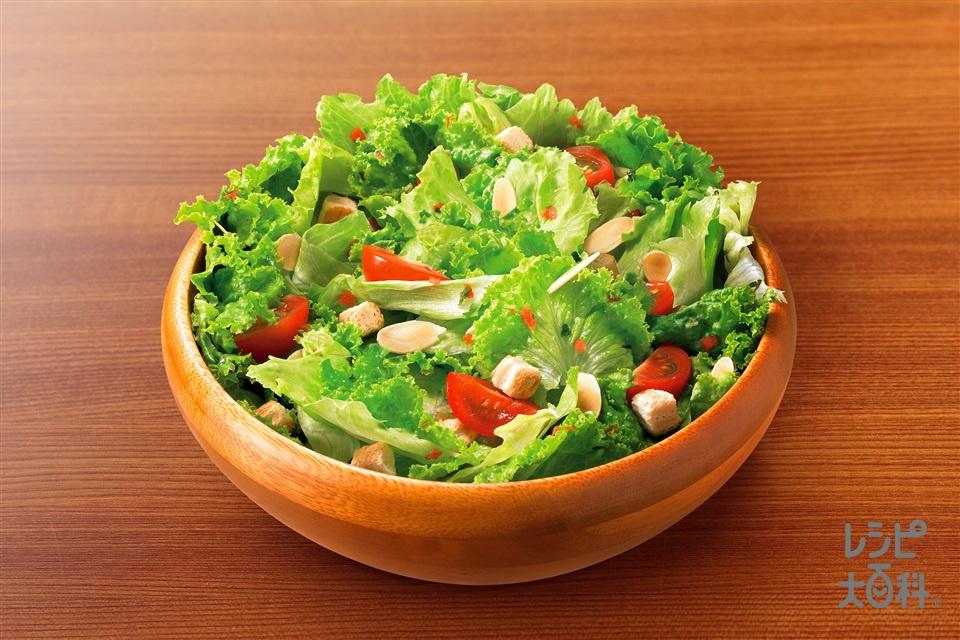 イタリアントスサラダ(レタス+ミニトマトを使ったレシピ)