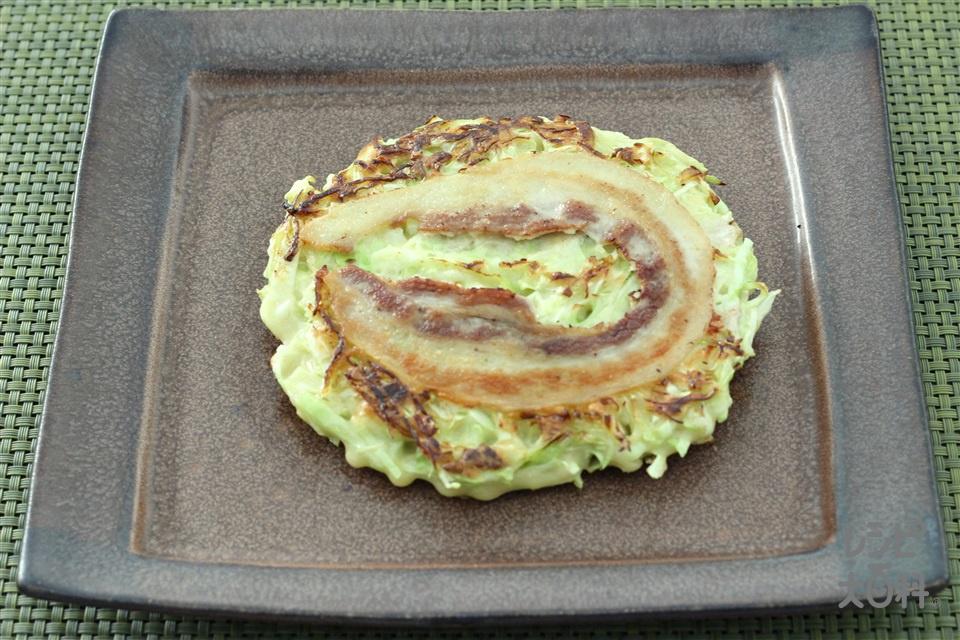 お好み焼き(豚キャベツ)(キャベツ+小麦粉を使ったレシピ)