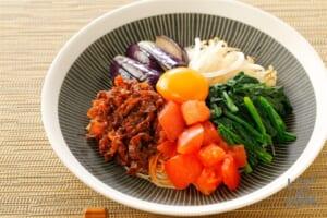 さっぱり野菜ビビン麺