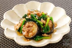 揚げなす風~肉と野菜のとろとろ中華餡~