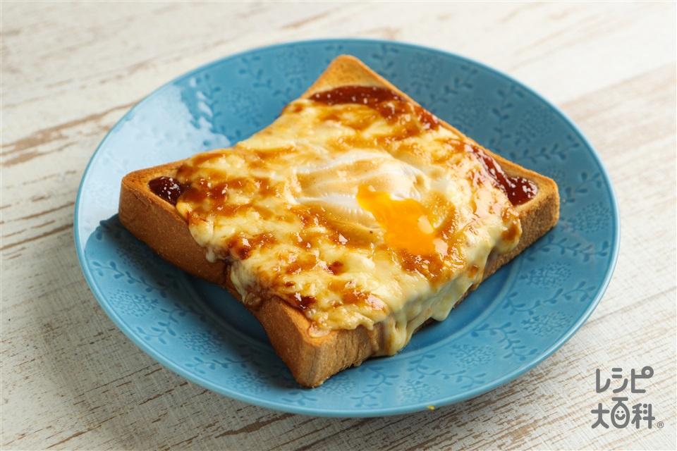 エッグマヨディクト(食パン6枚切り+卵を使ったレシピ)