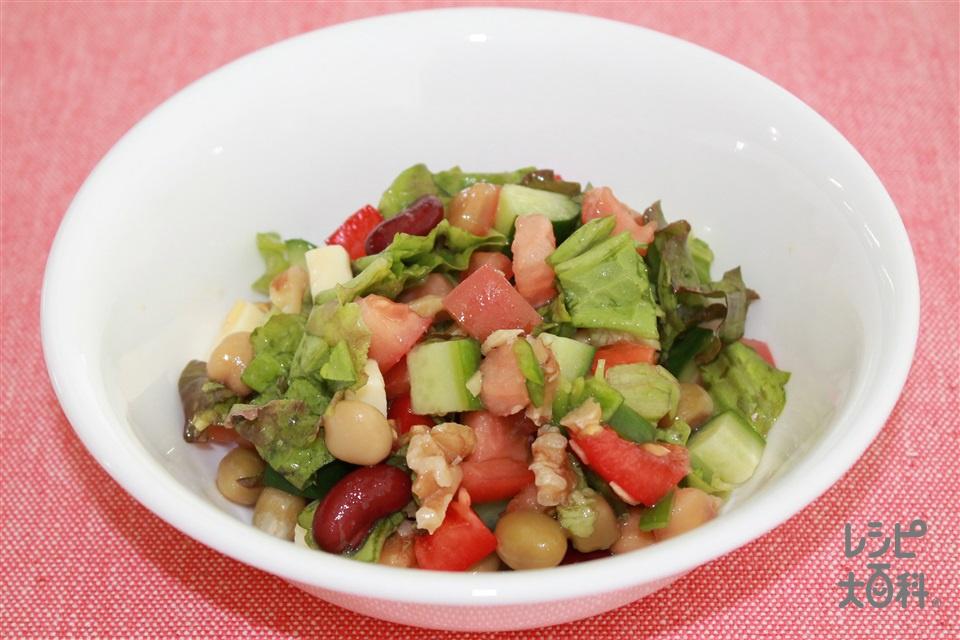 チョップドサラダ(トマト+きゅうりを使ったレシピ)
