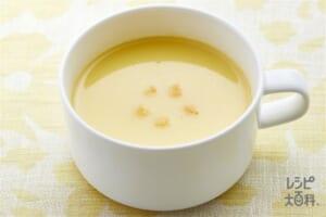 「クノール カップスープ」コーンクリーム塩分40%カット
