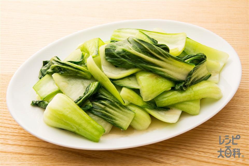 金の青菜炒め(チンゲン菜を使ったレシピ)