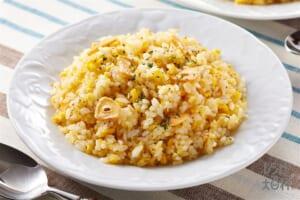 うま味ガーリックライス(ご飯+溶き卵を使ったレシピ)