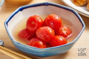 ミニトマトのだし煮