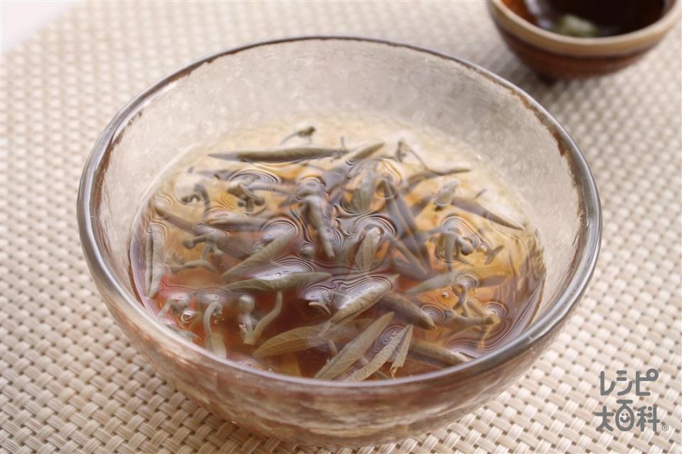 じゅんさいの冷製(じゅんさい+A水を使ったレシピ)