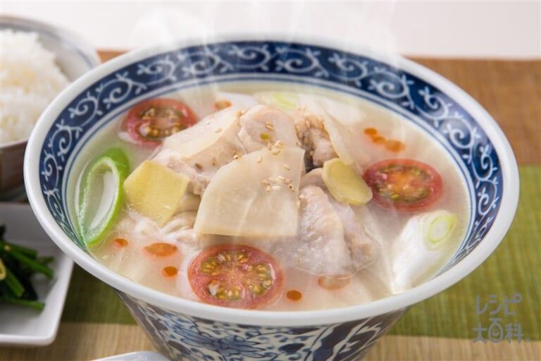 楽チン♪参鶏湯風スープ