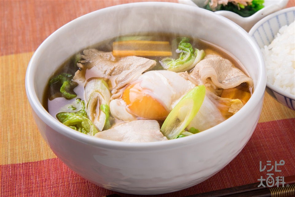 白菜と豚肉のおかず椀