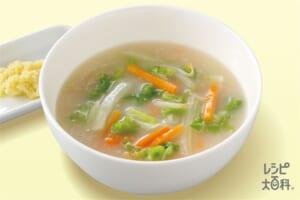とろとろ白菜の白湯スープ