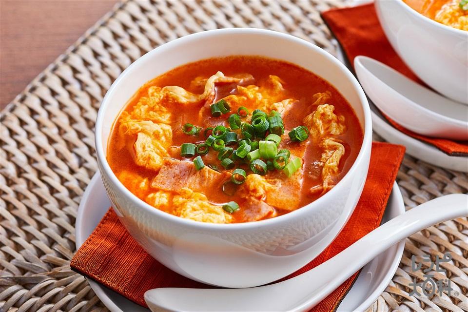 卵スープトムヤム味