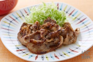 豚肉のオイスー生姜焼き