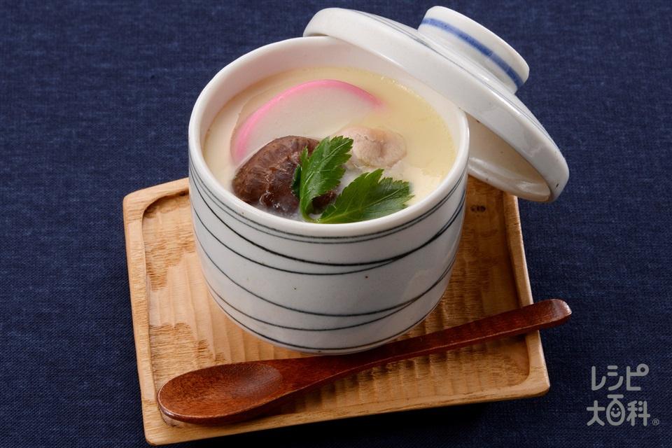 あごだし茶碗蒸し(卵+A水を使ったレシピ)
