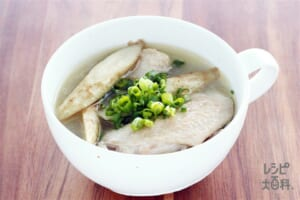 手羽先とごぼうの中華スープ