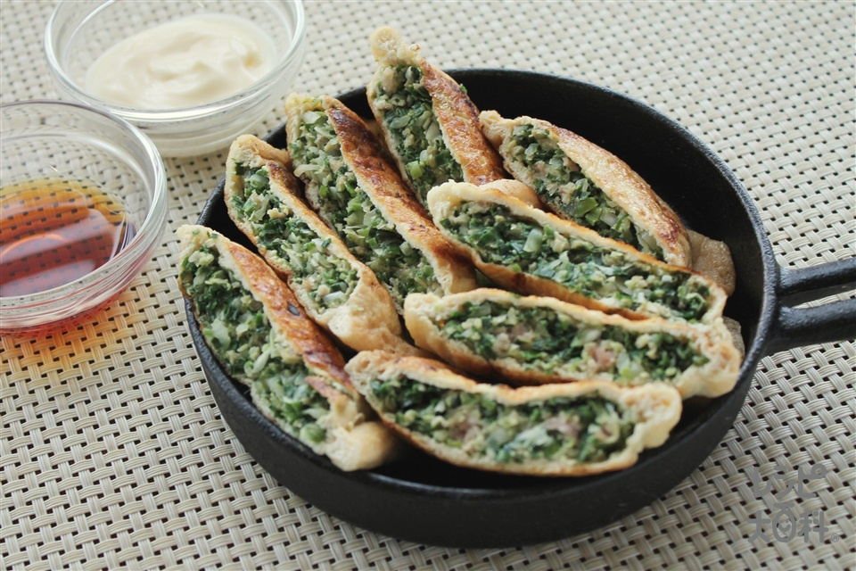 きつねギョーザ(油揚げ+豚ひき肉を使ったレシピ)