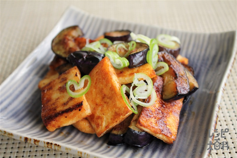 油揚げの豆板醤炒め(油揚げ+なすを使ったレシピ)