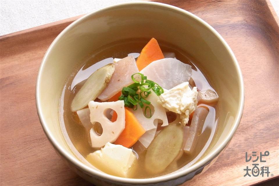 けんちょう汁(大根+木綿豆腐を使ったレシピ)