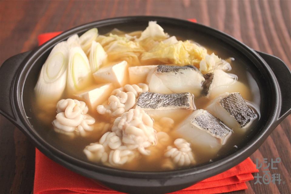 たらのたづ鍋(しらこ鍋)