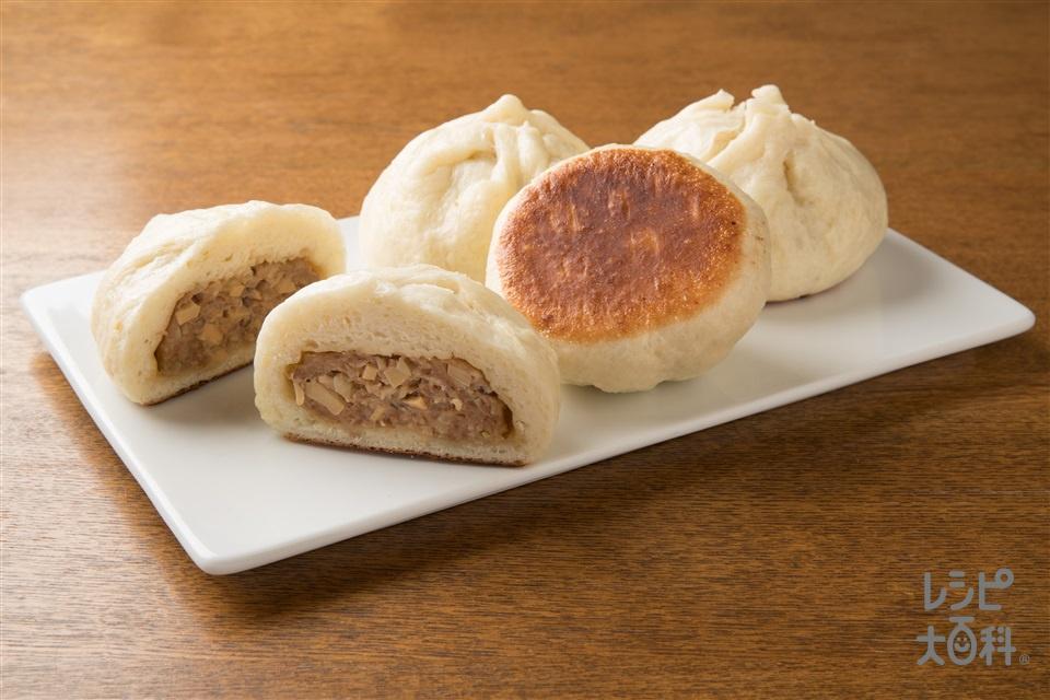 皮から手作り!焼き肉まん(薄力粉+豚ひき肉を使ったレシピ)