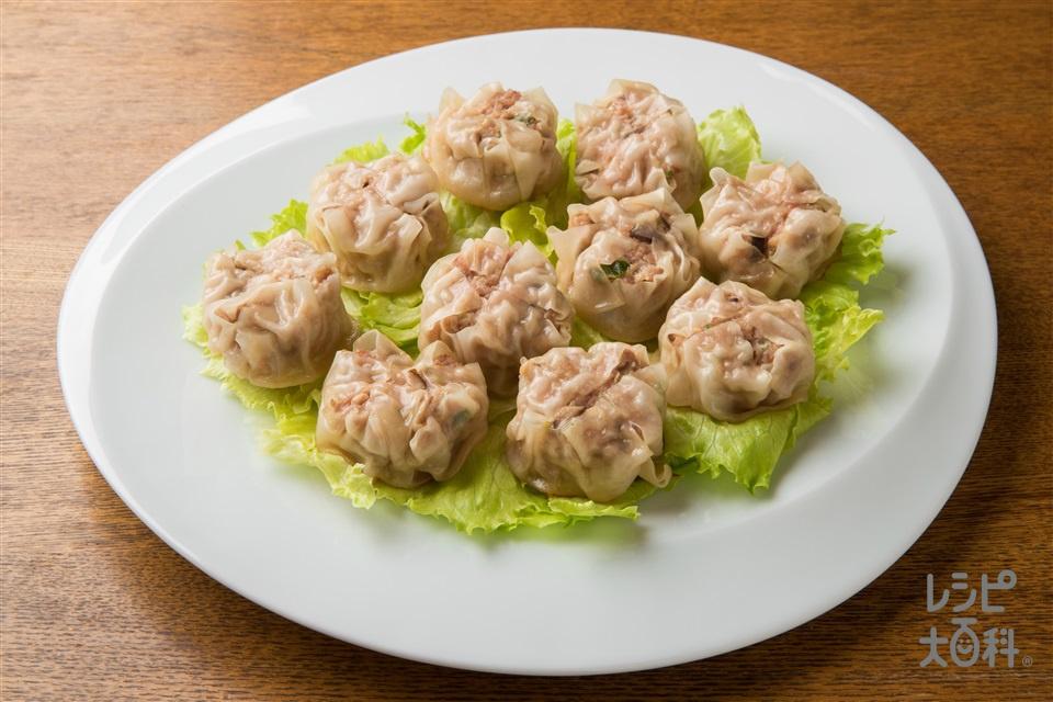 焼き焼売(しゅうまいの皮+豚ひき肉を使ったレシピ)
