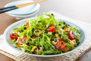 「Toss Sala」豆腐と水菜の和風ごまサラダ