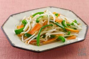 レンジで簡単!海鮮風味の温野菜