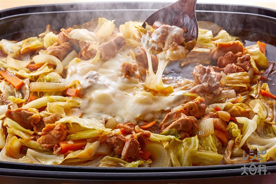 チーズタッカルビ(鶏もも肉+キャベツを使ったレシピ)