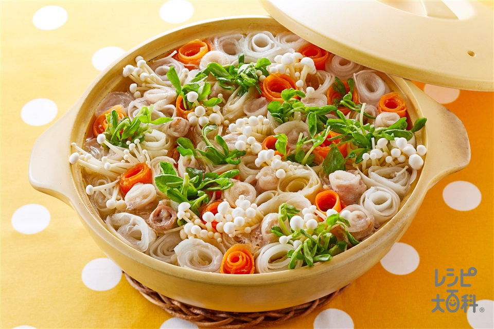 お花畑鍋(白菜+大根を使ったレシピ)