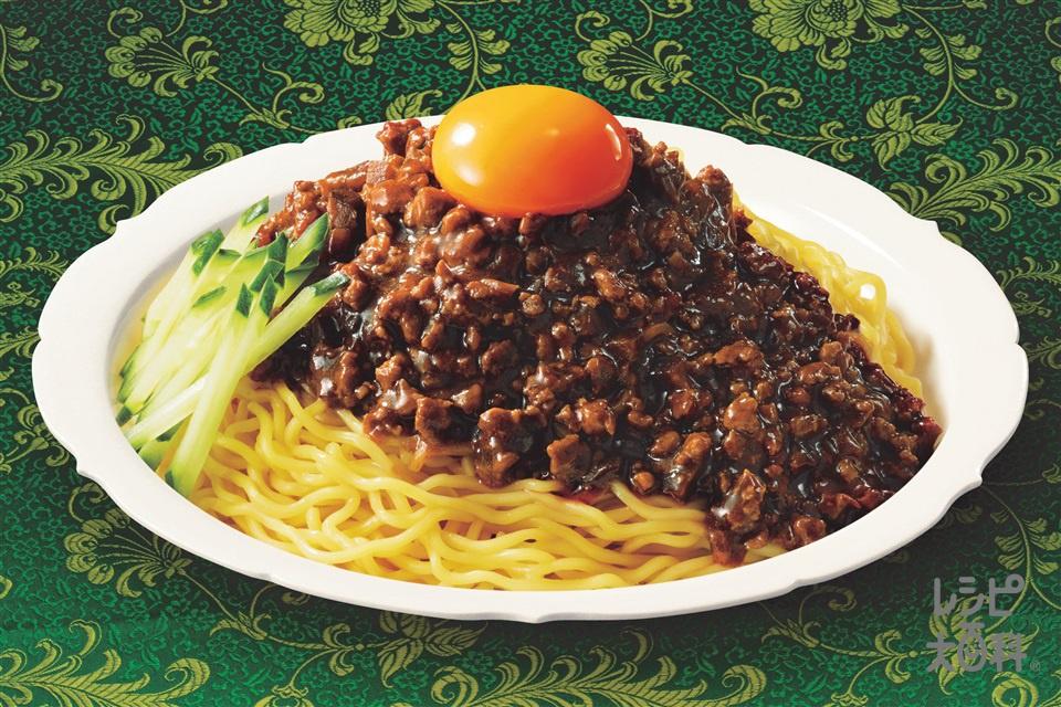 ジャージャー麺(中華ゆでめん+豚ひき肉を使ったレシピ)