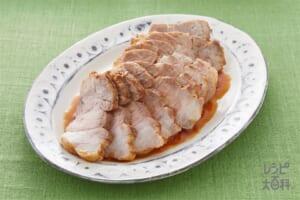 鶏と帆立だしの簡単煮豚