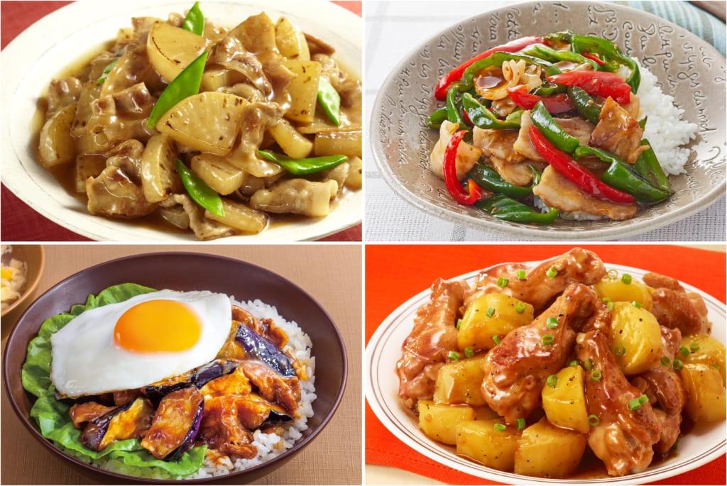 肉と野菜で簡単!「Cook
