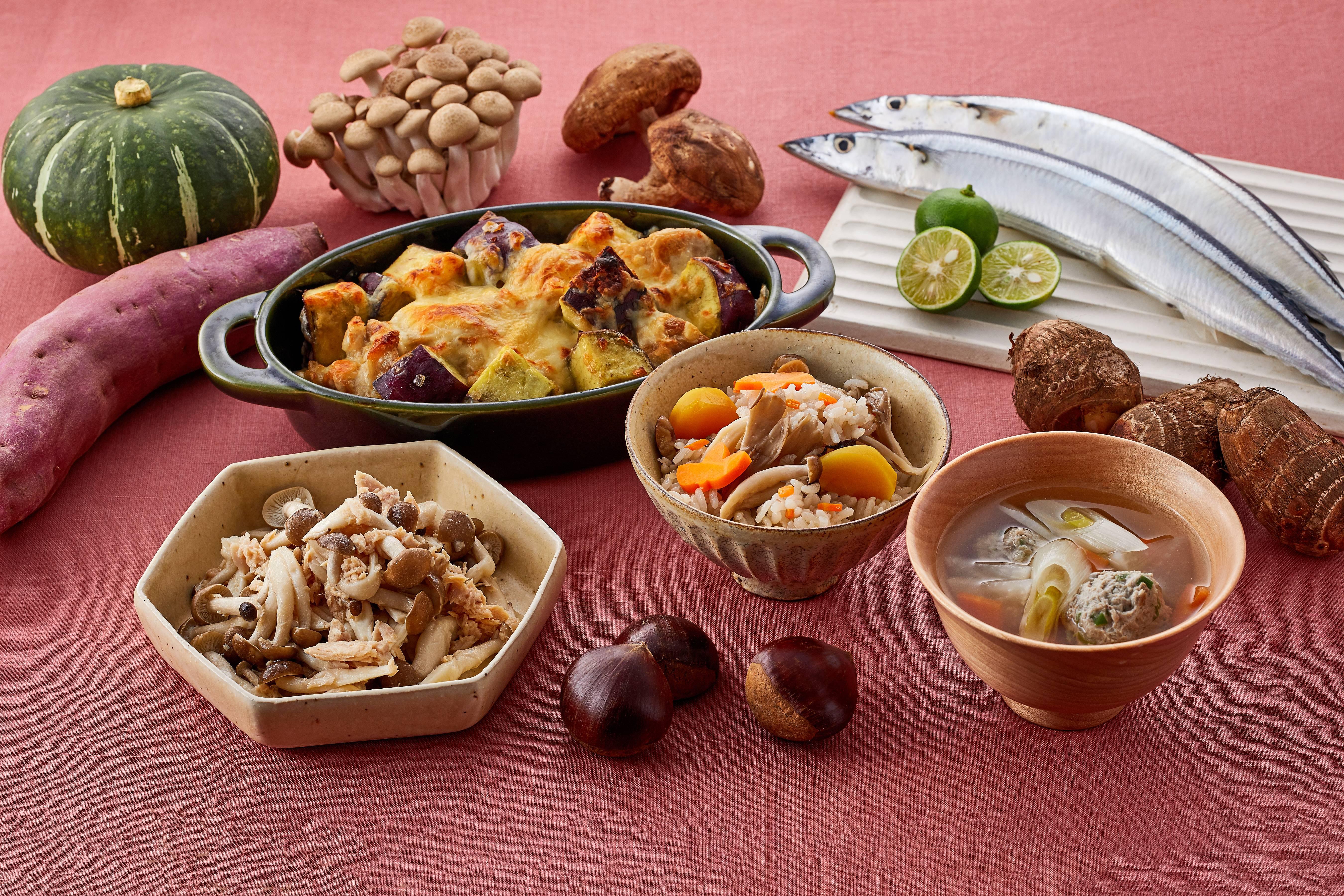 食欲の秋♪秋の味覚を楽しむレシピ特集☆