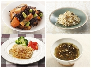 豆腐のステーキ・オニオンソースの献立