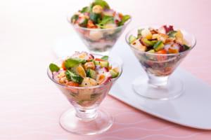 【10分で作れる】ほめられ華やか!ごちそうサラダ