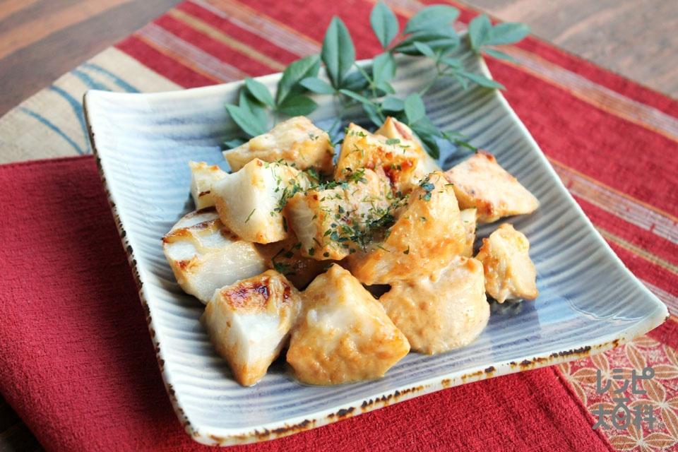 里芋の味噌マヨネーズ焼き(里いも+A「ピュアセレクト マヨネーズ」を使ったレシピ)